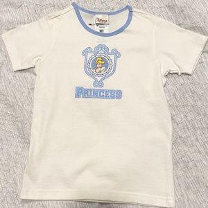 Disney store Cinderella princess shirt size Med 8